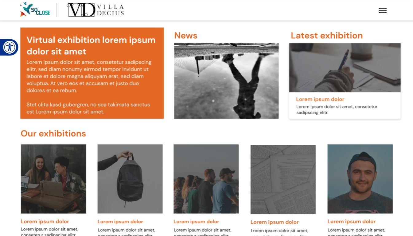 Participatory virtual exhibition